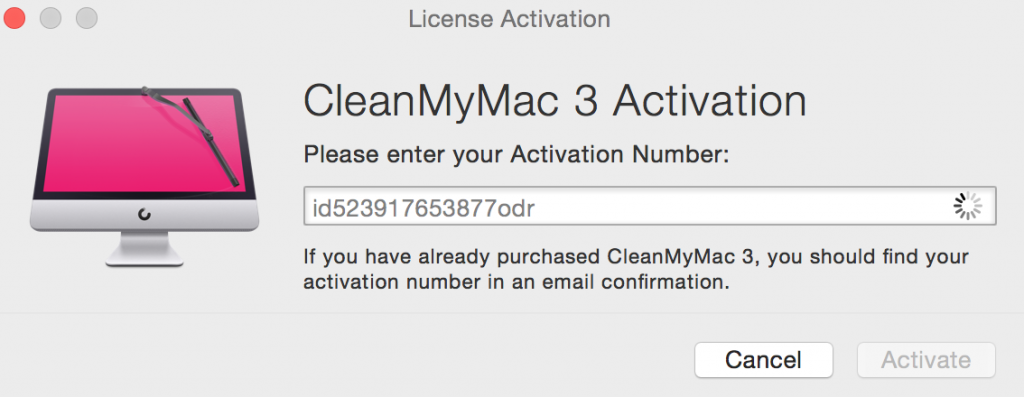 cleanmymac x 4.1.3 activation code