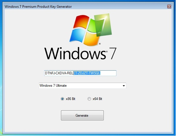 Windows 7 Product Key