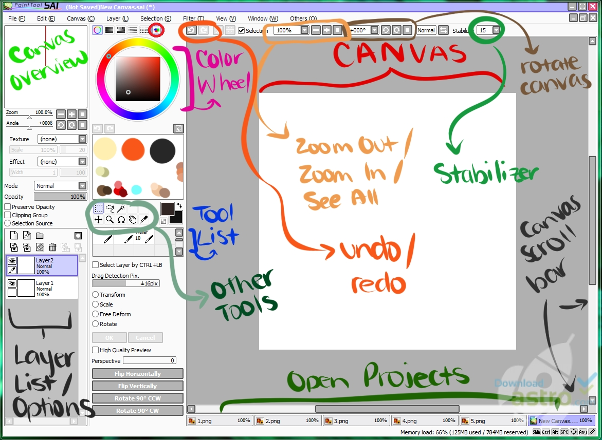 paint sai mac download free