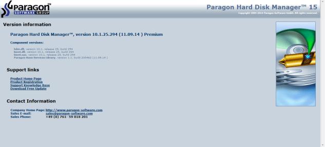 Paragon Hard Disk Manager 15 Premium Key