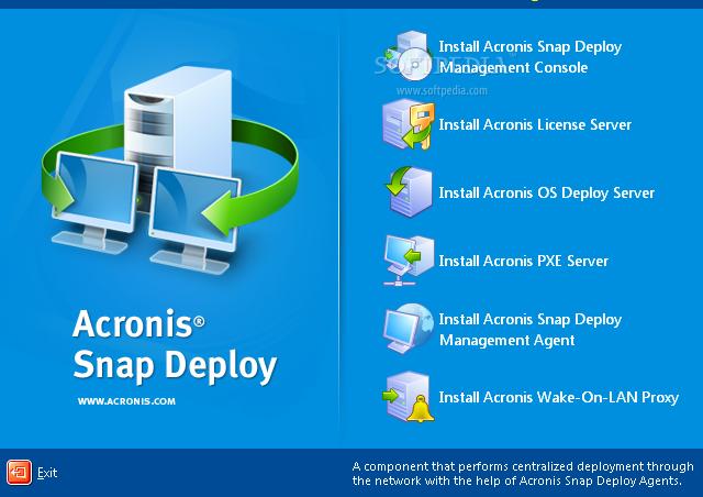 Acronis Snap Deploy Serial key