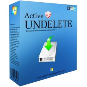 Active Undelete Ultimate 12 Crack