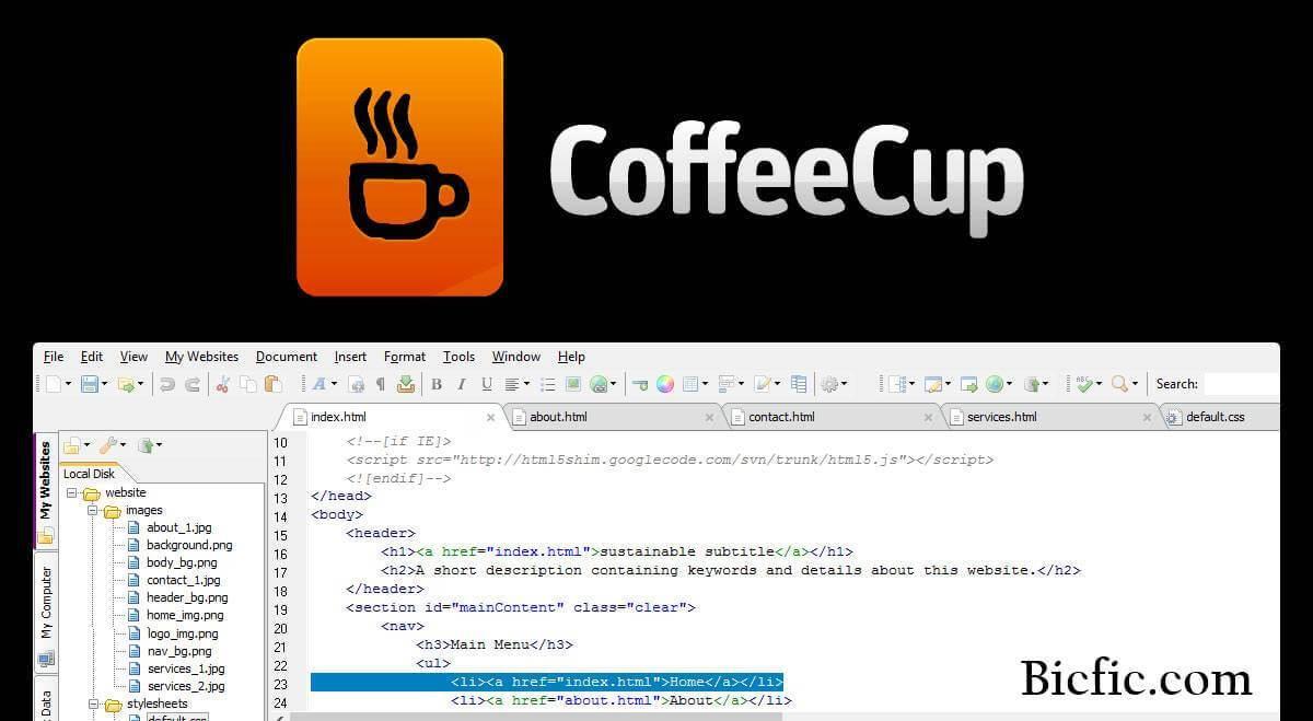 CoffeeCup HTML Editor Crack