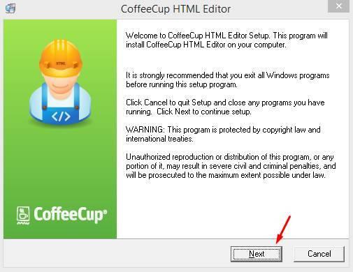 CoffeeCup HTML Editor Full Version
