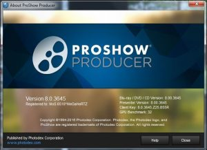 ProShow Producer 9.0.3797 Crack With Registration Key